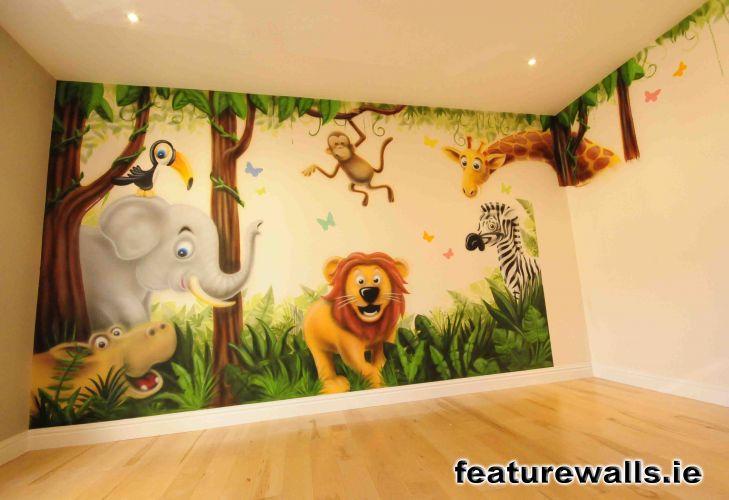 Jungle Murals For Nursery Thenurseries