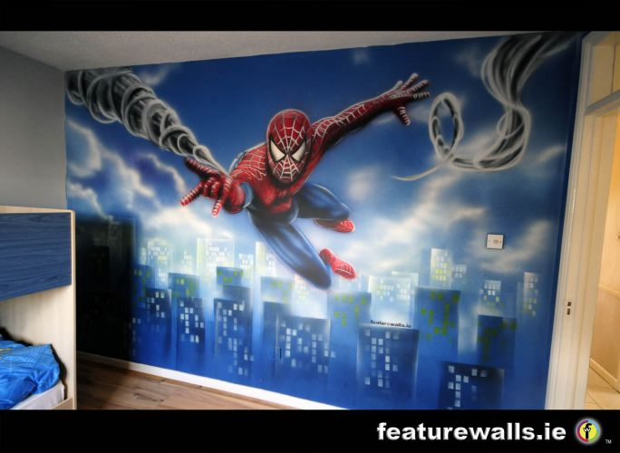 pics photos spiderman wall murals for kids spiderman