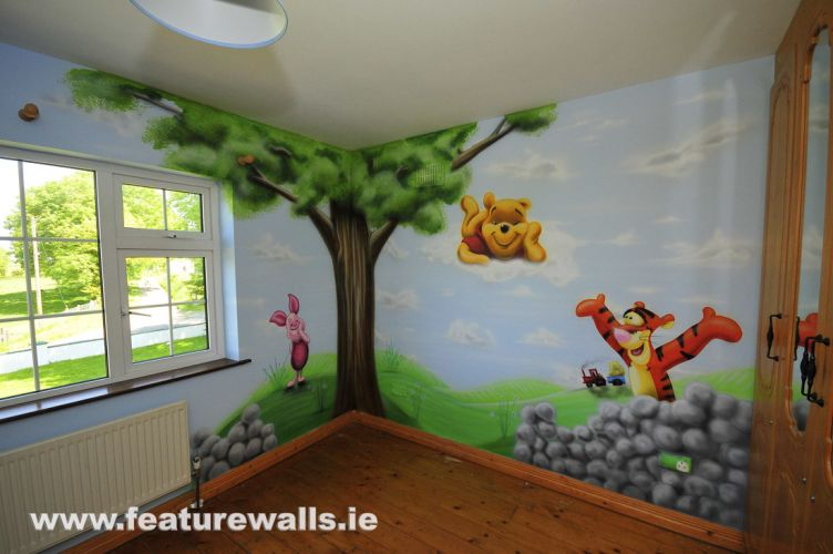 pics photos baby murals nursery mural kids murals walltastic children s wall mural