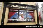 JOHN MULHOLLAND CHRISTMAS WINDOW PAINTING