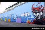 Large outdoor playground  Murals