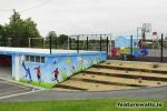 schools play ground/shelters murals